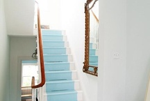 painted stair - geverfde trap