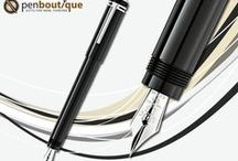 Montblanc Pens  / Pen Boutique is an AUTHORIZED DEALER of Montblanc  and luxury accessories.  For generations, Montblanc pens has been known as a maker of sophisticated, high quality writing instruments.   Founded in Germany by a Hamburg stationer in 1906, Montblanc began as the Simplo Filler Pen Company. From its inception, Montblanc have exhibited a classic style featuring the most internationally recognized pen symbol – the six-pointed white snowcap.   http://penboutique.com/m-22-montblanc.aspx