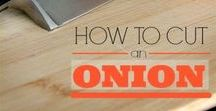 Onion How-To's / Want to learn more about onions? We've got you covered. Learn how to select and store onions and even how to cut them without crying!