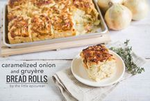 Baking with Onions / Onions give baked goods a savory twist. Go ahead, get creative by adding them to breads, muffins and more.