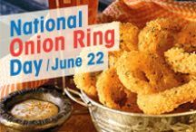 Onion Ring Recipes / Baked, battered, dipped, seasoned, fried...it's amazing how many different ways there are to make onion rings!