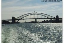 Sydney Harbour / Sydney Harbour is not only a historical link between destinations. It is also photogenic ;-)