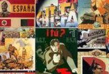 Carteles de la Guerra Civil Española / Una visión de la Guerra Civil Española a través del arte puesto al servicio de causas e ideologías.