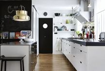 Modern Kitchen / Scandinavian style kitchen ideas.
