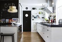 Modern Kitchen / Scandinavian style kitchen ideas.