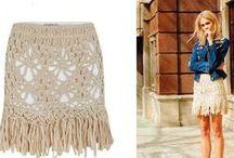 Crochet Skirts / by Heloisa Lenart
