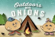 Outdoors with Onions / We're declaring the great outdoors as the ultimate destination this summer and have gathered some of the best places, gear and food for your adventures.