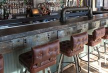SteamPunk/Industrial Interior Ideas