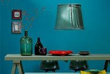 Colores, colores! / Interiors woth cool coloring.