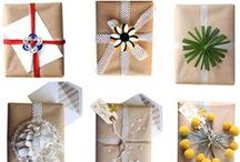 Gift wrapping for books / Books don't have to be boring to wrap. Get creative!