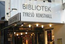 Tyresö Library Sweden / Tyresö bibliotek bilder