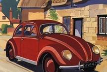 Car Posters - Vintage / by Lars Aleth