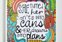Inspirational Quotes / Beautiful quotes and photos for teachers and classrooms.
