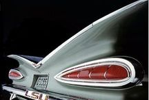 Vintage cars from the fifties / Femtiotalsnostalgi / by Lars Andersson