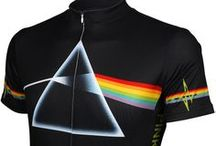 Rock & Roll Band Jerseys / Rock & Roll Band Jerseys for the musician or Rock Fan.  A great gift for the music lover as well as the way to make a statement while on WHEELS.  Can't you see these winning the local sprints or winning it's way up the steeps! / by Cyclegarb.com