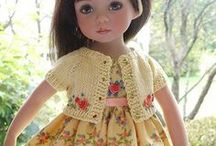 Doll clothes and patterns / by Ina Diehm