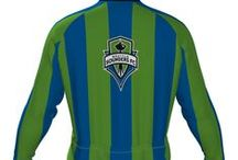 MLS - Cycling Jerseys - LONGSLEEVE / Major League Soccer - MLS - Long sleeved cycling jerseys.  - Free Shipping !   Men's & WOMEN's - Hidden Front Zipper - Tapered collar - Triple back pocket - Over-locked QUALITY seams. See all MLS LONG Sleeves at  http://www.cyclegarb.com/mls-long-sleeve-cycling-jerseys.html / by Cyclegarb.com
