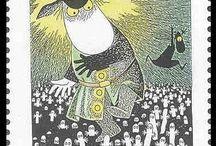 Moomin stamps / Muminfrimärken