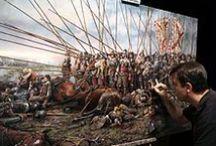 El pintor de batallas / Cuadros sobre batallas históricas