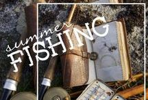Summer Fishing Favourites / After a warm day in the boat, you'll want recipes to cook those fish!