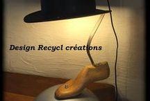Mes luminaires - Mes créations / Créer le futur avec le passé