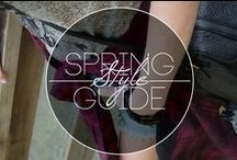 Spring Style Guide / New trends, styles & looks for Spring 2015 for men, women & kids from the top brands in skate, snow, surf & style! http://www.premiumlabel.ca/outlet/news/spring-style-guide
