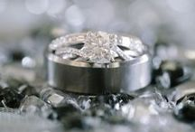 Contemporary Modern Setting Rings / Engagement rings with modern glamour!