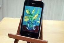 David Hockney Ipad and Iphone pictures / Ipad and Iphone pictures by David Hockney