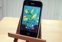 David Hockney Ipad and Iphone pictures / Ipad and Iphone pictures by David Hockney