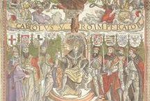 Los Austria españoles y su mundo. / Recopilación de imágenes tanto artísticas como históricas de la Edad Moderna española.