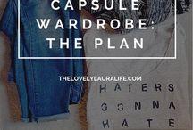 capsule the wardrobe ♡