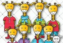 Clip Art by Lindy / Child-friendly, bright, creative educational clipart.