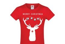 Kerst t-shirts | vanSHIRTJEtotSHIRTJE / Alle Kerst tshirts | It's all X-mas baby  #Kerst #tshirts #tees #xmas #shirts