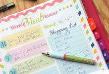 Meal Planning & Meal Ideas / Meal Plans, Meal Planning, lists, breakfast, lunch, dinner ideas