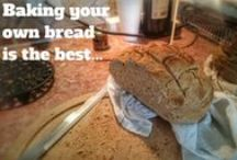 I love baking! / My favorite recipes, homemade bread and other baking creations!