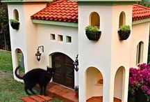 Cat Houses and towers