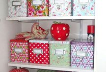 Organised House / Ideas in types of storage to use around the house. From utility rooms to under stairs cupboards