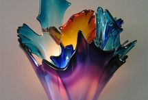 Art: Sculpture Gorgeous Glass / . / by Steph Orris