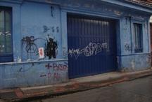 Grafiti Gamberro / Algunos grafitis son considerados actos de vandalismo al maltratar y destruir la propiedad pública y privada. Estos grafitis no son una muestra de arte sino de vandalismo.   / by Fundación Bogotá Mía