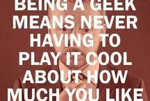 Geek / by Danielle -Kirby