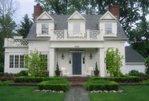 Dream house exteriors / by Ellen Stanclift