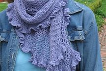 Loving Crochet Scarves/Wraps / Beautiful crocheted scarves and wraps / by Valerie Webb