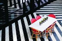 Stripes Style / How to use stripes to form a strong visual marker and create stand out