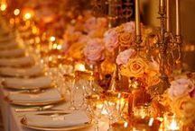 Glamorous Wedding Style / Ideas for glamorous, luxury and opulent weddings