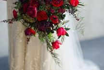 Red Winter Wedding Ideas / by Invisible Blue