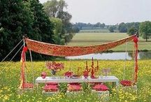 Summer Outdoor Party Style / Creating the perfect style for outdoor events this summer