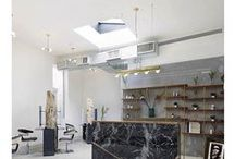 ION STUDIO NYC | Interior / Davines & ION Studio Atelier - An Education Collective in the heart of SoHo!   ION Studio is a sustainable hair salon in New York City, owned by celebrated editorial hairstylists Marco Santini and Leonardo Manetti, whose hairstyles are featured on the runways, in countless high fashion magazines, and in major advertising campaigns.  | www.ionstudionyc.com | www.davines.com  |  41 Wooster Street, SoHo, 10013, NYC | 212.343.9060