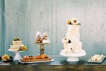Food & Drink Tables / beautiful displays of food and drinks at weddings