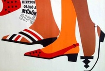 Fashion posters / Hungarian vintage posters that were made to advertise fashion products and events.