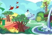 Doodles / Google doodles, soo fuun.